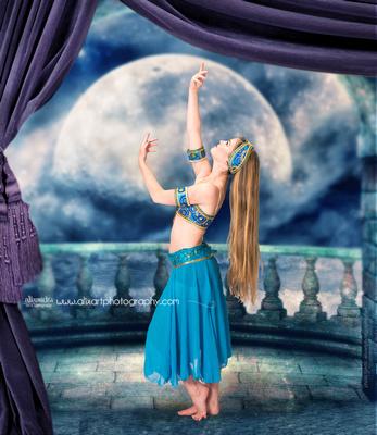Moonlight Arabian Dancer