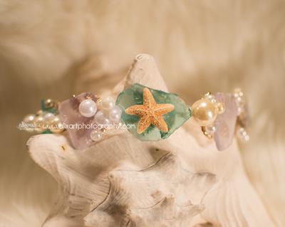 Mermaid Starfish Crown